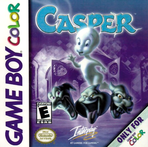 Casper Nintendo Game Boy Color cover artwork