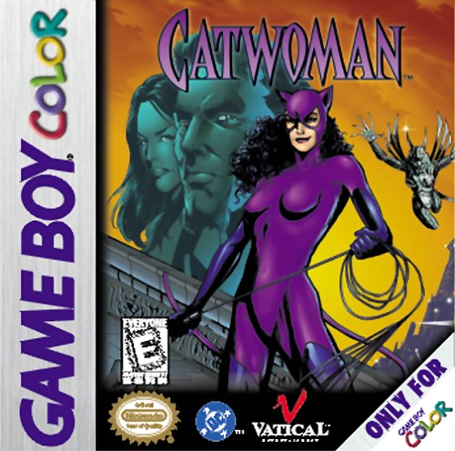 Catwoman Nintendo Game Boy Color cover artwork