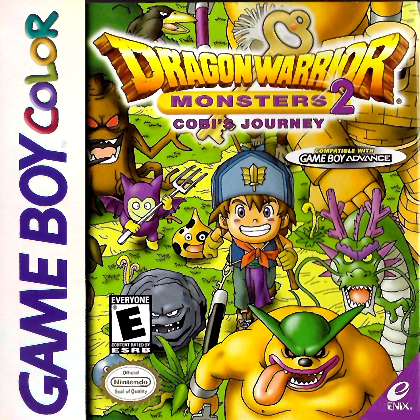 Dragon Warrior Monsters 2 - Cobi's Journey Nintendo Game Boy Color cover artwork