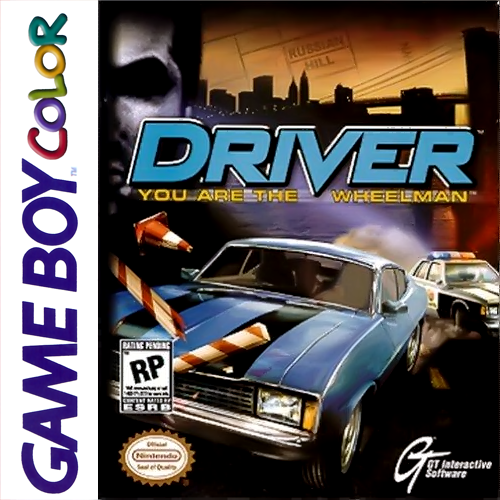 Driver - You are the Wheelman Nintendo Game Boy Color cover artwork