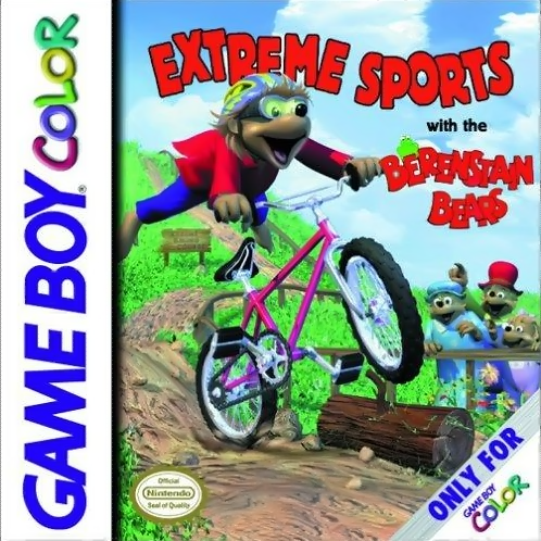 Extreme Sports with the Berenstain Bears Nintendo Game Boy Color cover artwork