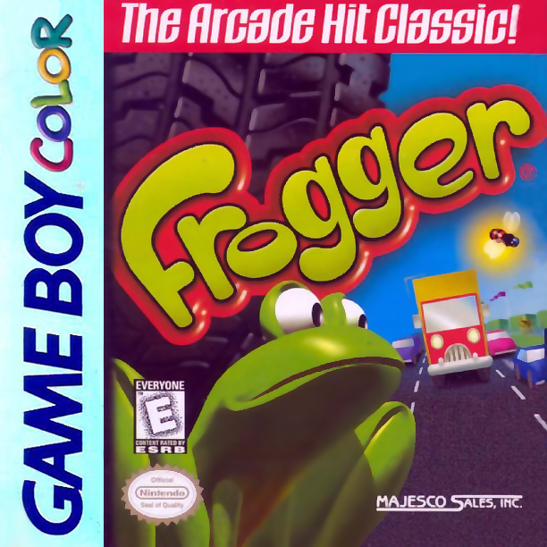 Frogger Nintendo Game Boy Color cover artwork