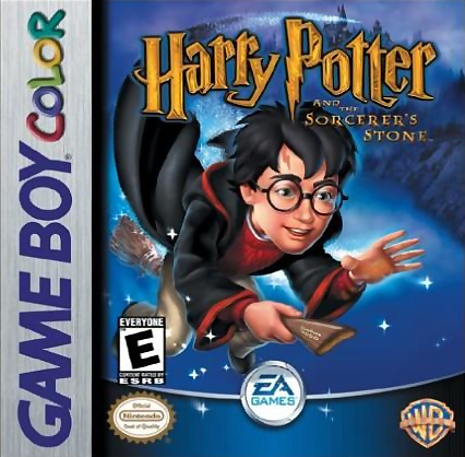 Harry Potter and the Sorcerer's Stone Nintendo Game Boy Color cover artwork