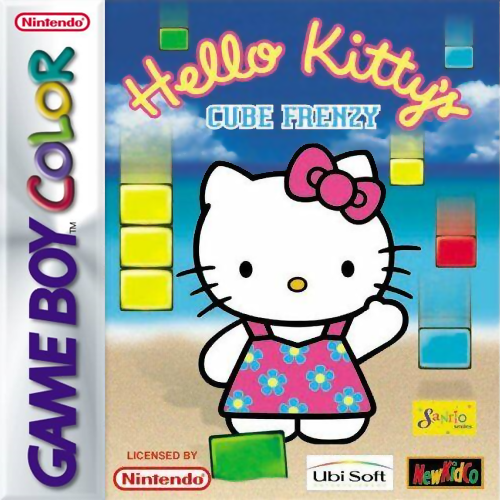 Hello Kitty's Cube Frenzy Nintendo Game Boy Color cover artwork