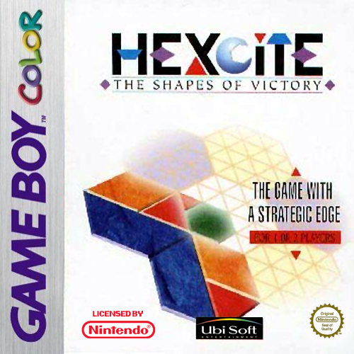 Hexcite - The Shapes of Victory Nintendo Game Boy Color cover artwork