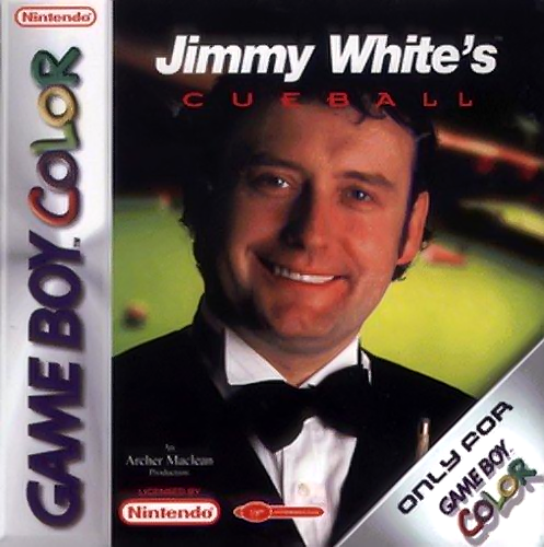 Jimmy White's Cueball Nintendo Game Boy Color cover artwork - jimmy-white-s-cueball-europe