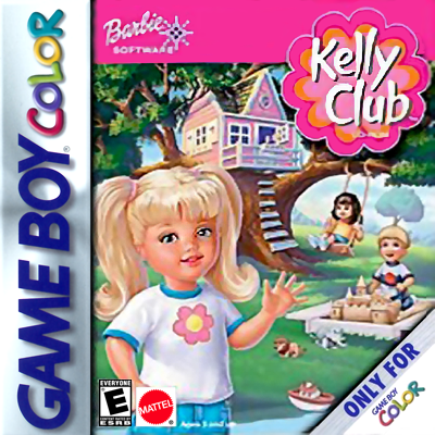 Kelly Club - Clubhouse Fun Nintendo Game Boy Color cover artwork