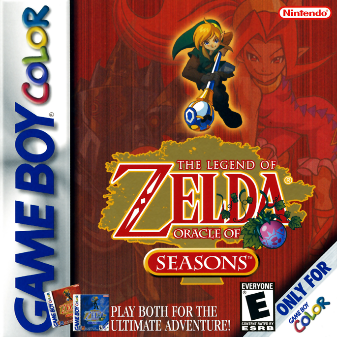 play legend of zelda oracle of seasons