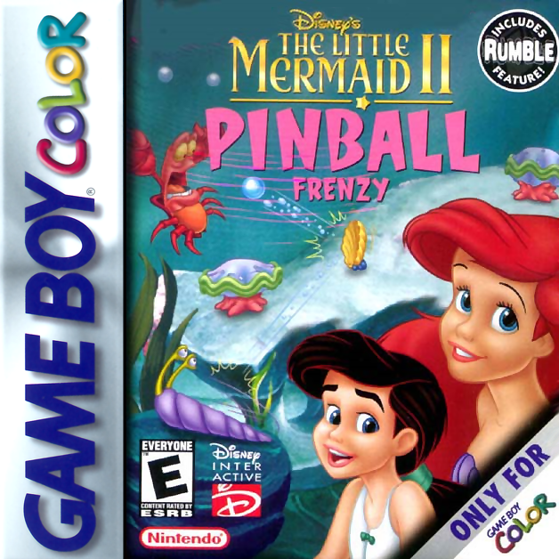 Little Mermaid II, The - Pinball Frenzy Nintendo Game Boy Color cover artwork