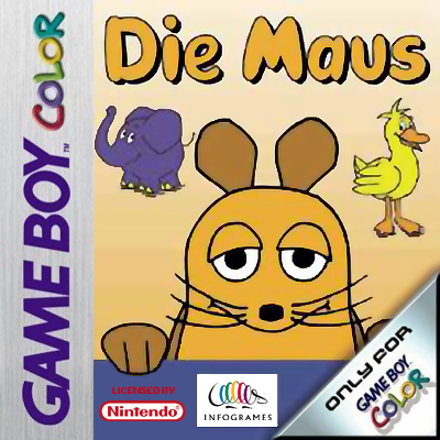 Maus, Die Nintendo Game Boy Color cover artwork
