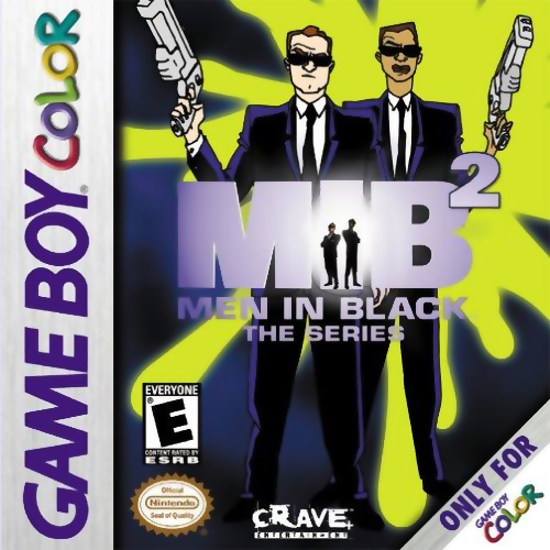 Men in Black 2 - The Series Nintendo Game Boy Color cover artwork