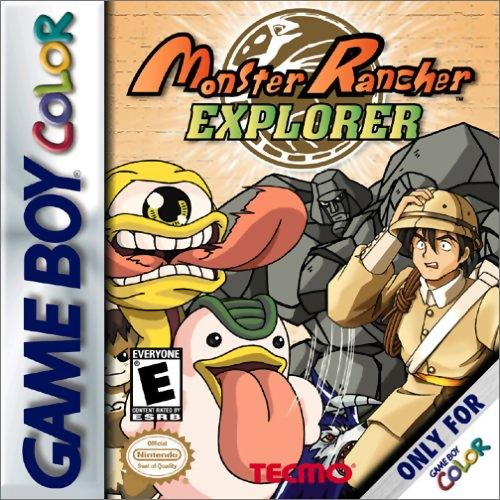 Monster Rancher Explorer Nintendo Game Boy Color cover artwork