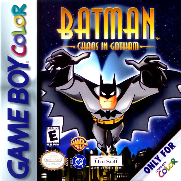 New Batman Adventures, The - Chaos in Gotham Nintendo Game Boy Color cover artwork