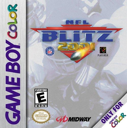 NFL Blitz 2001 Nintendo Game Boy Color cover artwork