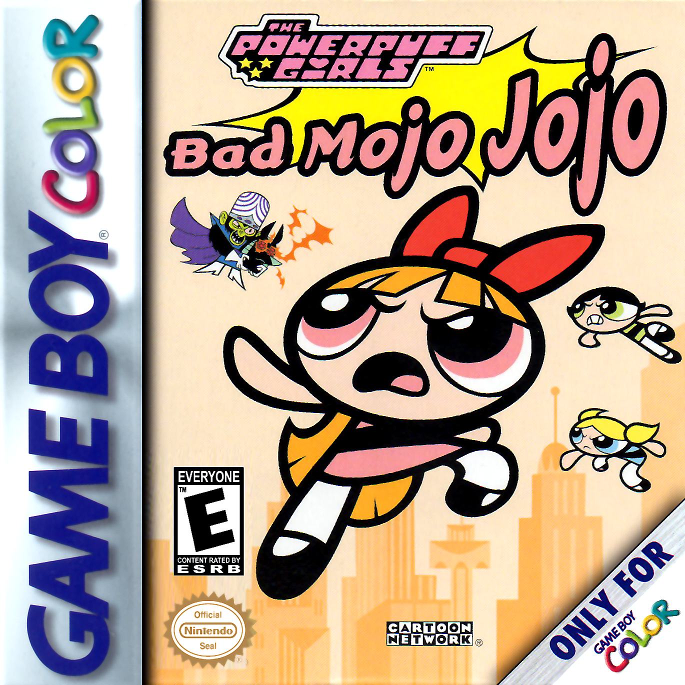 Color online games - Play Powerpuff Girls The Bad Mojo Jojo Nintendo Game Boy Color Online