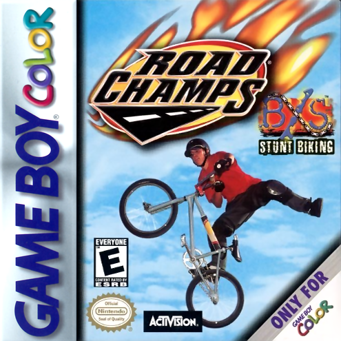 Road Champs - BXS Stunt Biking Nintendo Game Boy Color cover artwork