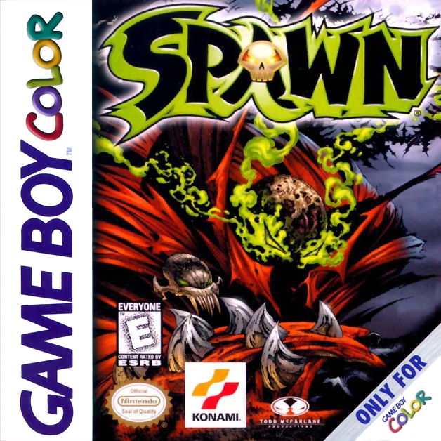 Spawn Nintendo Game Boy Color cover artwork