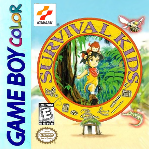Survival Kids Nintendo Game Boy Color cover artwork