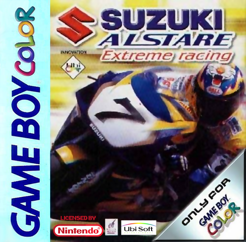 Suzuki Alstare Extreme Racing Nintendo Game Boy Color cover artwork
