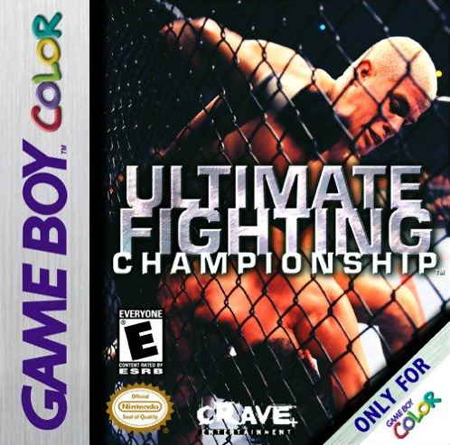 Ultimate Fighting Championship Nintendo Game Boy Color cover artwork