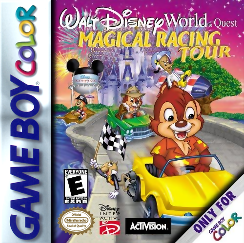 Walt Disney World Quest - Magical Racing Tour Nintendo Game Boy Color cover artwork