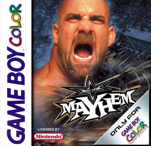 WCW Mayhem Nintendo Game Boy Color cover artwork