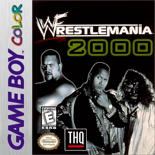 WWF WrestleMania 2000 Nintendo Game Boy Color cover artwork