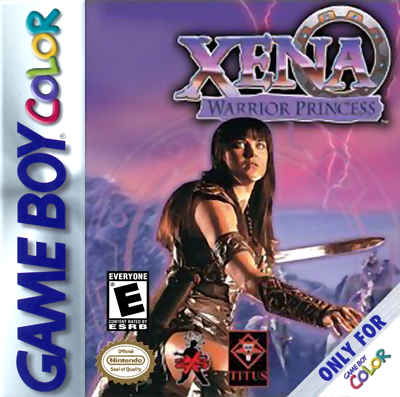 Xena - Warrior Princess Nintendo Game Boy Color cover artwork