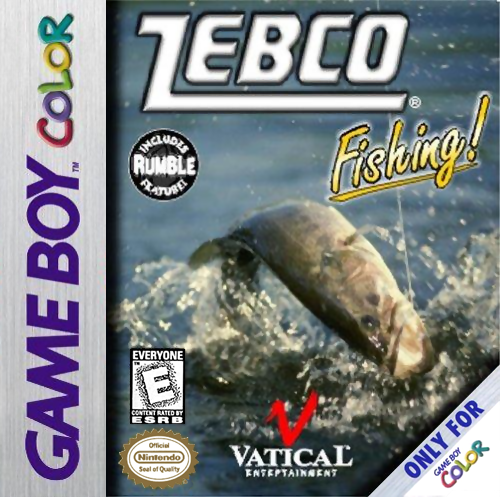Zebco Fishing! Nintendo Game Boy Color cover artwork