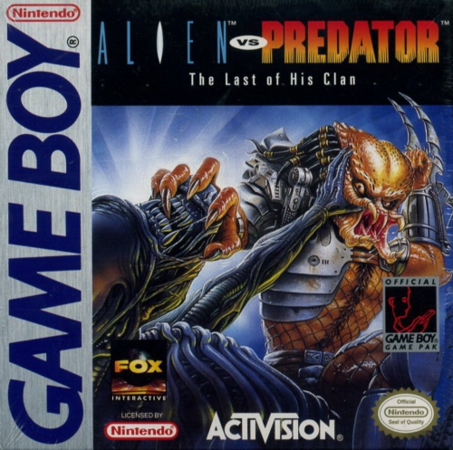 Alien vs Predator - The Last of His Clan Nintendo Game Boy cover artwork