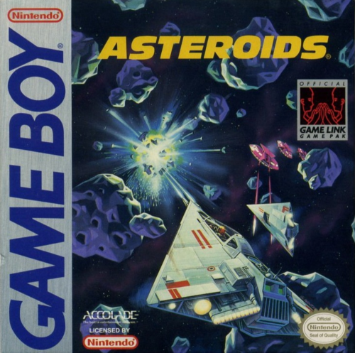 Asteroids Nintendo Game Boy cover artwork