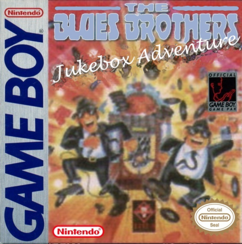 Blues Brothers, The - Jukebox Adventure Nintendo Game Boy cover artwork