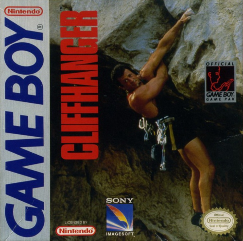 Cliffhanger Nintendo Game Boy cover artwork