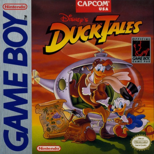 DuckTales Nintendo Game Boy cover artwork