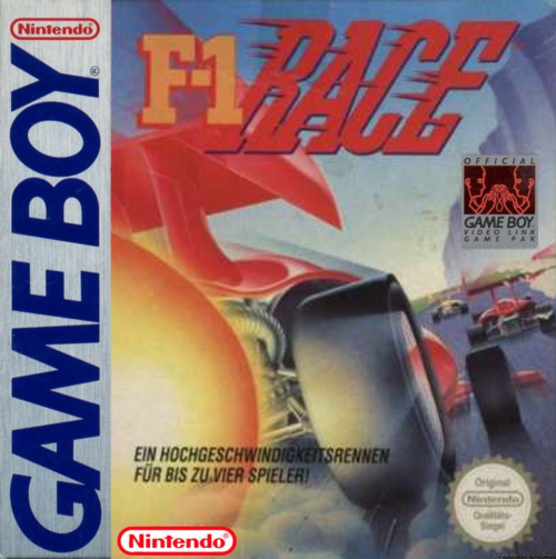 F-1 Race Nintendo Game Boy cover artwork