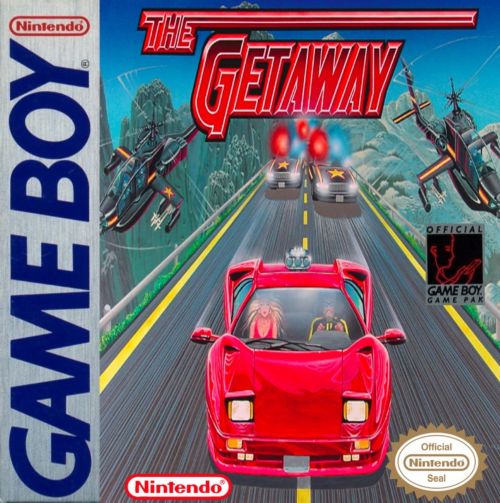 Getaway, The Nintendo Game Boy cover artwork