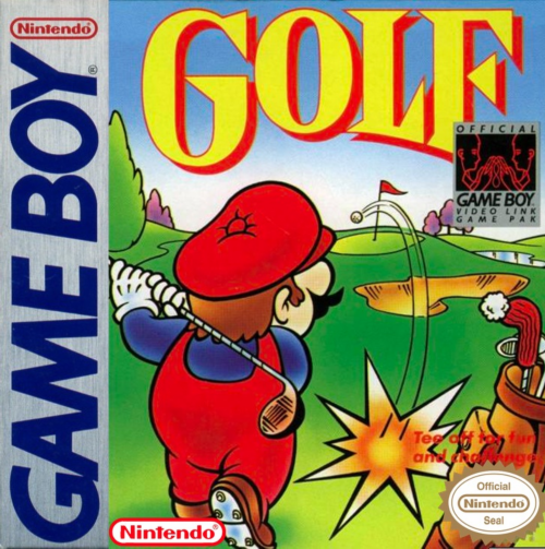 Golf Nintendo Game Boy cover artwork