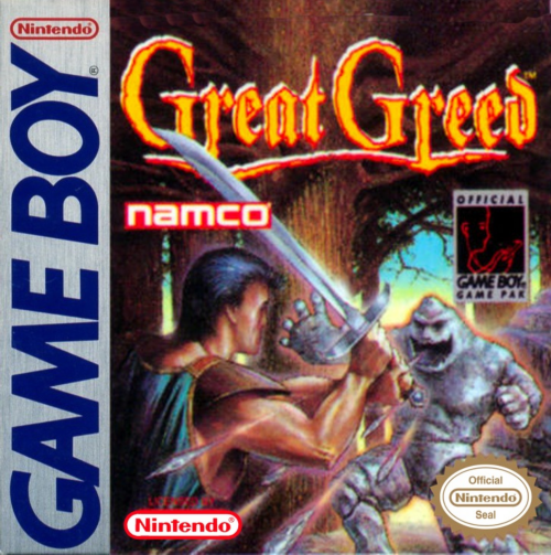 Great Greed Nintendo Game Boy cover artwork