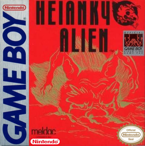 Heiankyo Alien Nintendo Game Boy cover artwork