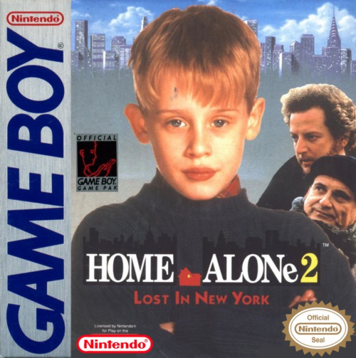 Home Alone 2 - Lost In New York Nintendo Game Boy cover artwork