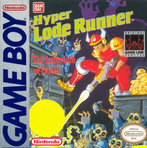 Hyper Lode Runner Nintendo Game Boy cover artwork