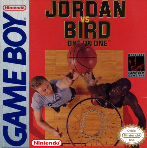 Jordan vs Bird - One on One Nintendo Game Boy cover artwork
