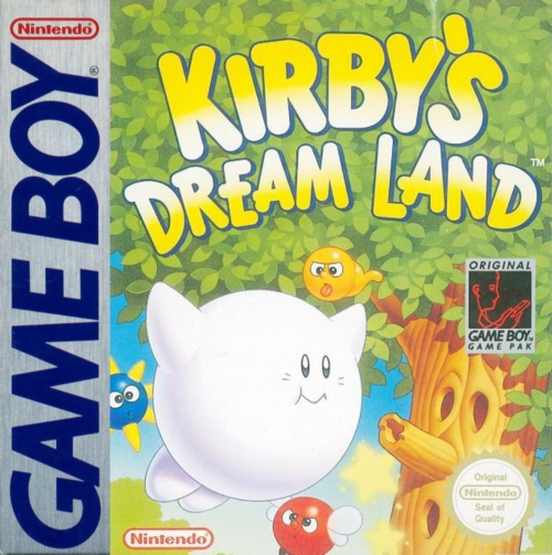 Kirby's Dream Land Nintendo Game Boy cover artwork