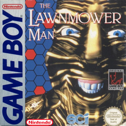 Lawnmower Man, The Nintendo Game Boy cover artwork