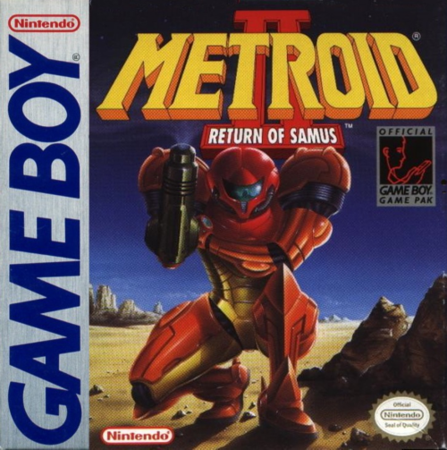 Metroid II - Return of Samus Nintendo Game Boy cover artwork