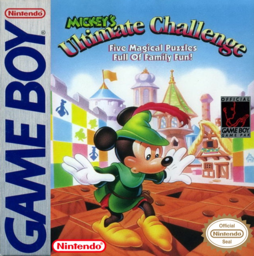 Mickey's Ultimate Challenge Nintendo Game Boy cover artwork