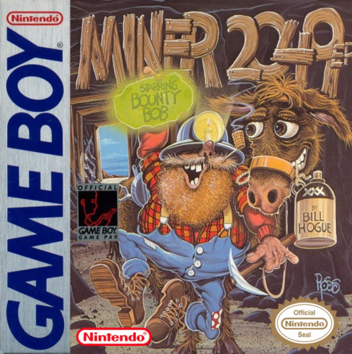 Miner 2049er Nintendo Game Boy cover artwork