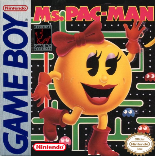Ms. Pac-Man Nintendo Game Boy cover artwork