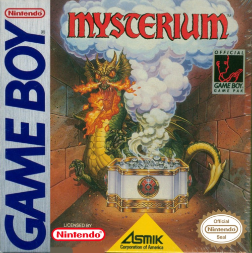 Mysterium Nintendo Game Boy cover artwork