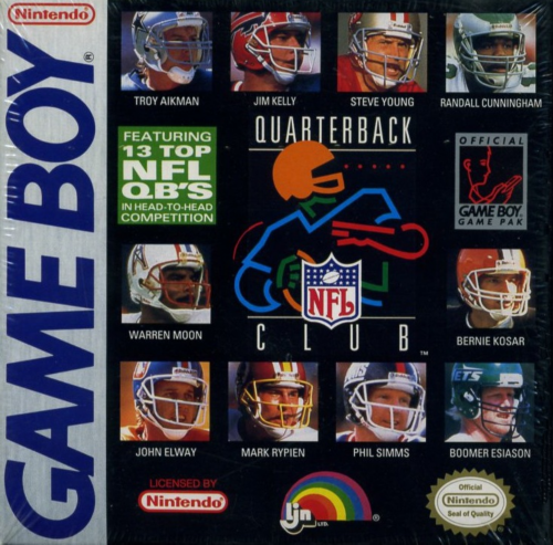 NFL Quarterback Club Nintendo Game Boy cover artwork